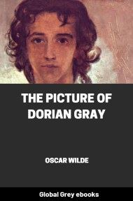 cover page for the Global Grey edition of The Picture of Dorian Gray By Oscar Wilde