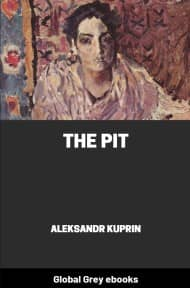 cover page for the Global Grey edition of The Pit by Aleksandr Kuprin