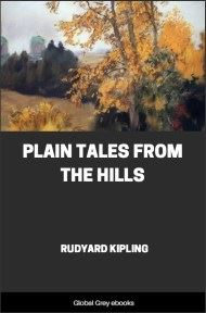 cover page for the Global Grey edition of Plain Tales from the Hills by Rudyard Kipling