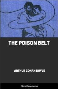 cover page for the Global Grey edition of The Poison Belt by Arthur Conan Doyle