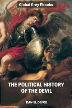 The Political History of the Devil, by Daniel Defoe - click to see full size image