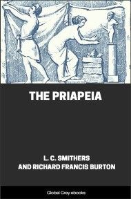 cover page for the Global Grey edition of The Priapeia by Richard Francis Burton and L. C. Smithers