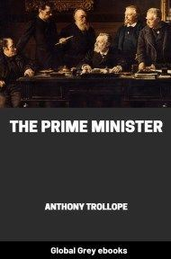 cover page for the Global Grey edition of The Prime Minister by Anthony Trollope