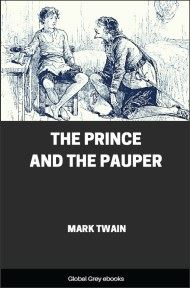 cover page for the Global Grey edition of The Prince and the Pauper by Mark Twain