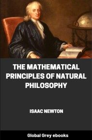 cover page for the Global Grey edition of The Mathematical Principles of Natural Philosophy by Isaac Newton