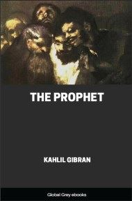 cover page for the Global Grey edition of The Prophet by Kahlil Gibran