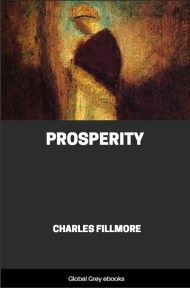cover page for the Global Grey edition of Prosperity by Charles Fillmore