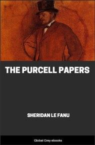 cover page for the Global Grey edition of The Purcell Papers by Sheridan Le Fanu