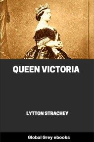 cover page for the Global Grey edition of Queen Victoria by Lytton Strachey