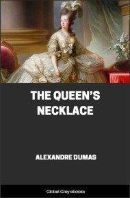 cover page for the Global Grey edition of The Queen's Necklace by Alexandre Dumas
