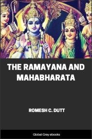 cover page for the Global Grey edition of The Ramayana and Mahabharata by Romesh C. Dutt