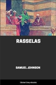 cover page for the Global Grey edition of Rasselas by Samuel Johnson