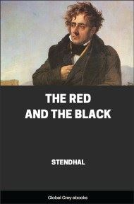 cover page for the Global Grey edition of The Red and the Black by Stendhal