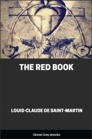 cover page for the Global Grey edition of The Red Book by Louis-Claude de Saint-Martin