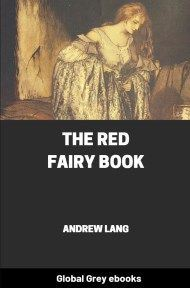 cover page for the Global Grey edition of The Red Fairy Book by Andrew Lang
