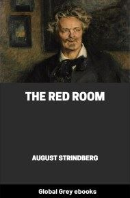 cover page for the Global Grey edition of The Red Room by August Strindberg