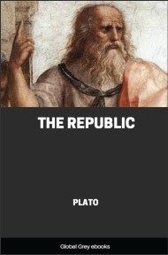 cover page for the Global Grey edition of The Republic by Plato