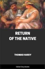 cover page for the Global Grey edition of Return of the Native By Thomas Hardy