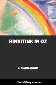 cover page for the Global Grey edition of Rinkitink in Oz by L. Frank Baum