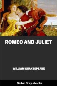 cover page for the Global Grey edition of Romeo and Juliet by William Shakespeare