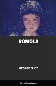 cover page for the Global Grey edition of Romola by George Eliot