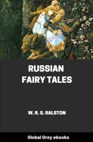 cover page for the Global Grey edition of Russian Fairy Tales by W. R. S. Ralston