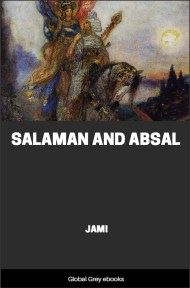 cover page for the Global Grey edition of Salaman and Absal by Jami