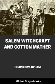Salem Witchcraft and Cotton Mather