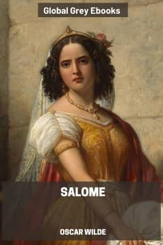 cover page for the Global Grey edition of Salome by Oscar Wilde