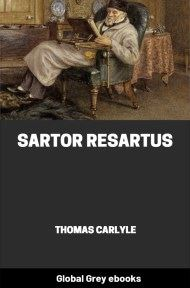 Sartor Resartus By Thomas Carlyle