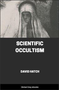 cover page for the Global Grey edition of Scientific Occultism by David Hatch