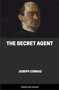 cover page for the Global Grey edition of The Secret Agent by Joseph Conrad