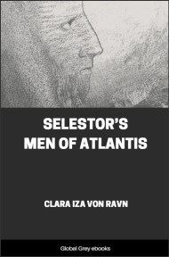 cover page for the Global Grey edition of Selestor's Men of Atlantis by Clara Iza von Ravn