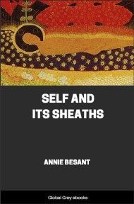 cover page for the Global Grey edition of Self and Its Sheaths by Annie Besant
