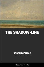 cover page for the Global Grey edition of The Shadow-Line by Joseph Conrad