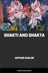 Shakti and Shakta By Arthur Avalon (John Woodroffe)