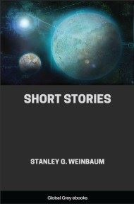 cover page for the Global Grey edition of Short Stories by Stanley G. Weinbaum