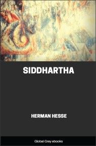 cover page for the Global Grey edition of Siddhartha by Herman Hesse