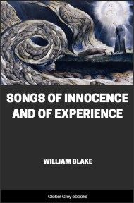 cover page for the Global Grey edition of Songs of Innocence and of Experience by William Blake