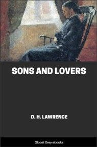 cover page for the Global Grey edition of Sons and Lovers by D. H. Lawrence