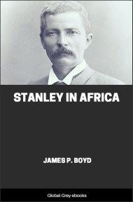 cover page for the Global Grey edition of Stanley in Africa by James P. Boyd