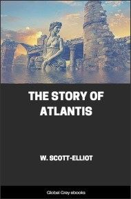 cover page for the Global Grey edition of The Story of Atlantis by William Scott-Elliot