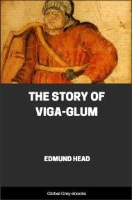 cover page for the Global Grey edition of The Story of Viga-Glum by Edmund Head