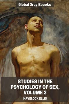 cover page for the Global Grey edition of Studies in the Psychology of Sex, Volume 3 by Havelock Ellis