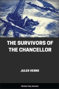 cover page for the Global Grey edition of The Survivors of the Chancellor by Jules Verne