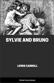 cover page for the Global Grey edition of Sylvie And Bruno by Lewis Carroll