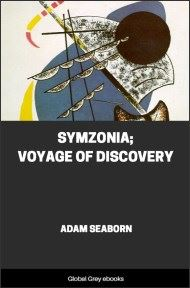 cover page for the Global Grey edition of Symzonia; Voyage of Discovery by Adam Seaborn