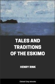 cover page for the Global Grey edition of Tales and Traditions of the Eskimo by Henry Rink