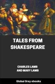 cover page for the Global Grey edition of Tales from Shakespeare by Charles Lamb and Mary Lamb