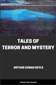 cover page for the Global Grey edition of Tales of Terror and Mystery by Arthur Conan Doyle